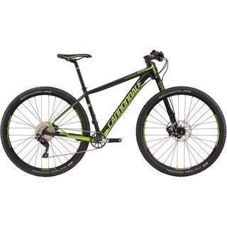 Cannondale F-SI 1 29 2017, black/bz green - Mountainbike