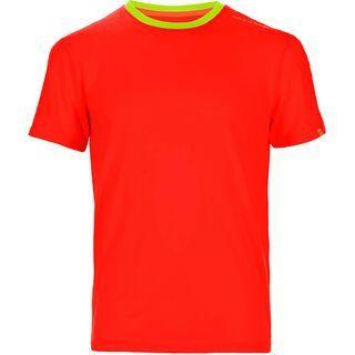 Ortovox Rock 'n' Wool Short Sleeve, crazy orange - Funktionsshirt