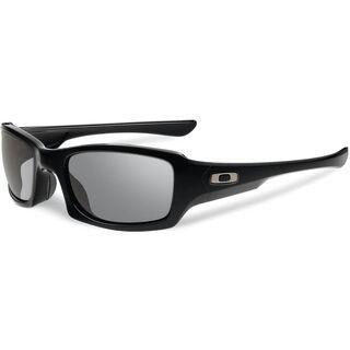 Oakley Fives Squared, Polished Black/Grey - Sonnenbrille