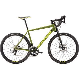 Cannondale Slate 105 2017, army green/neon - Rennrad