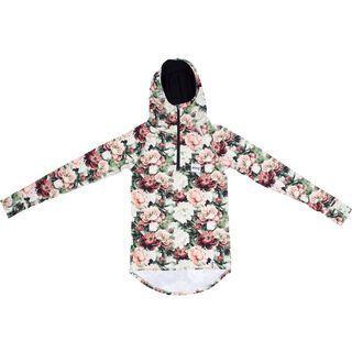 Eivy Icecold Winter Zip Hood Top, autumn bloom - Unterhemd