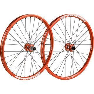 Spank Spoon 32 Wheelset 26, orange - Laufradsatz