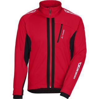 Vaude Men's Kuro Softshell Jacket II, red - Radjacke