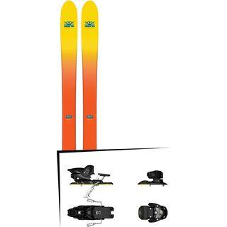Set: DPS Skis Wailer F112 2017 + Salomon Warden MNC 13 (1540104)