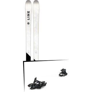 Set: Line Supernatural 86 2018 + Marker Alpinist 12 black/titanium