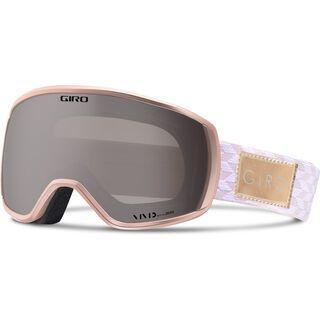 Giro Facet, rose gold shimmer/Lens: vived onyx - Skibrille