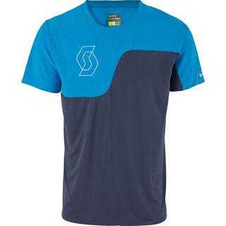 Scott Trail Tech 10 s/sl Shirt, blue nights/diva blue - Radtrikot