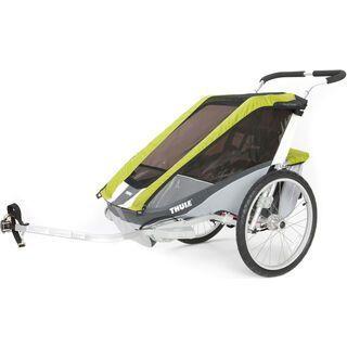 *** 2. Wahl *** Thule Chariot Cougar 2 inkl. Fahrrad-Set, avocado - Fahrradanhänger |