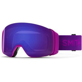 Smith 4D Mag inkl. WS, fuchsia/Lens: cp everyday violet mir - Skibrille