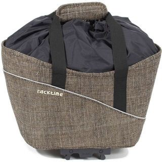 Racktime Shop-it, urban brown - Gepäckträgertasche