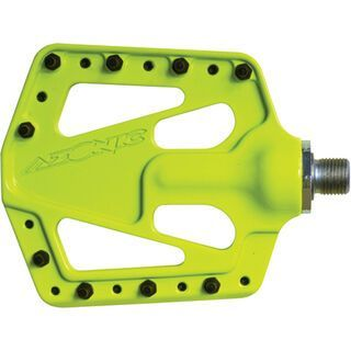 Azonic Flat Iron Pedal, yellow