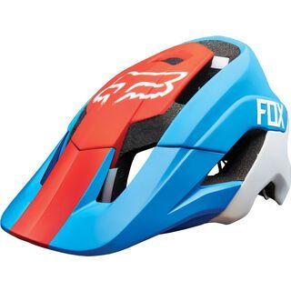 Fox Metah Graphics Helmet, cyan - Fahrradhelm
