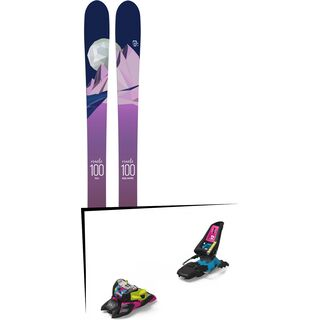 Set: Icelantic Oracle 100 2018 + Marker Squire 11 ID black/pink/blue