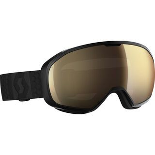 Scott Fix, black/Lens: light sensitive bronze chrome - Skibrille