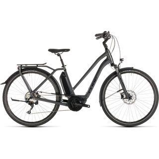 Cube Town Sport Hybrid Pro 400 Trapeze 2019, iridium´n´black - E-Bike