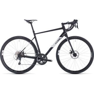 Cube Attain Race 2020, black´n´white - Rennrad