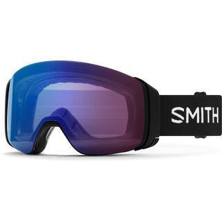 Smith 4D Mag inkl. WS, black/Lens: cp photochromic rose flash - Skibrille