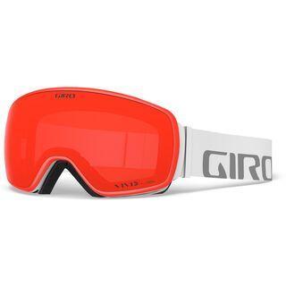Giro Agent - Vivid Ember white wordmark