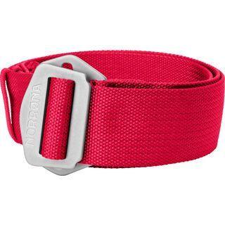 Norrona /29 web Belt, jester red - Gürtel