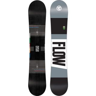 Flow Merc 2017, black - Snowboard