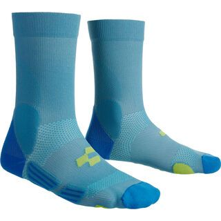 Cube Socke Mountain, blue´n´lime - Radsocken
