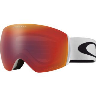 Oakley Flight Deck XM Prizm, matte white/Lens: torch iridium - Skibrille