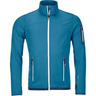Ortovox Merino Fleece Light Jacket M, blue sea - Fleecejacke