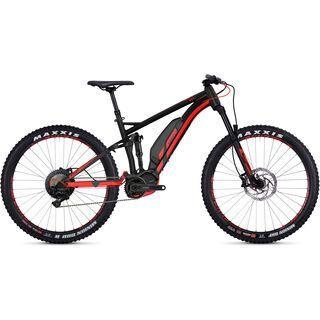 Ghost Hybride Kato FS S4.7+ AL 2018, black/neon red - E-Bike