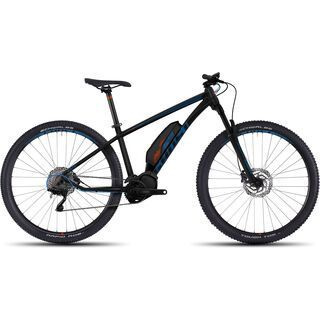 Ghost Hybride Kato 4 AL 29 2017, black/blue/orange - E-Bike