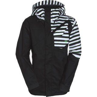 Volcom Versed Ins Jacket, Black Stripe - Snowboardjacke