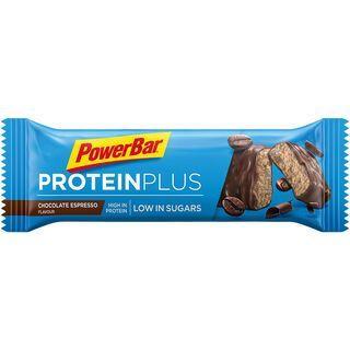 PowerBar Protein Plus Low Sugar - Chocolate Espresso - Proteinriegel