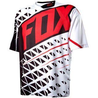 Fox Demo SS Jersey, black/white - Radtrikot