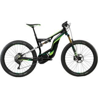 Cannondale Moterra 1 2017, black/bz green/cashmere - E-Bike