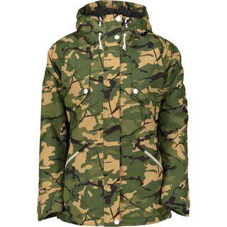WearColour Flare Jacket, forest - Snowboardjacke