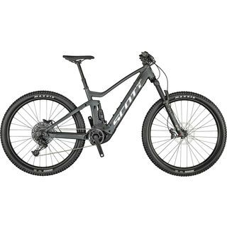 Scott Strike eRide 930 2021, black/brushed - E-Bike