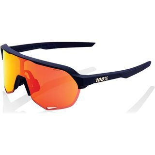100% S2 inkl. WS, soft tact flume/Lens: hiper red ml mir - Sportbrille