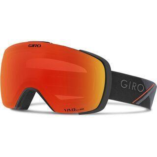 Giro Contact inkl. WS, black/red/Lens: vivid ember - Skibrille