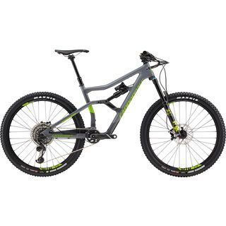 Cannondale Trigger 2 2018, gray/acid green - Mountainbike