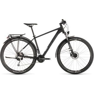 Cube Aim SL Allroad 27.5 2019, black´n´silver - Mountainbike
