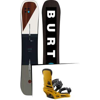 Set: Burton Custom Flying V 2019 +  Malavita (2218360S)