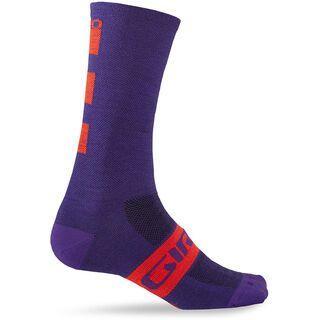 Giro Seasonal Merino Wool, ultraviolet - Radsocken