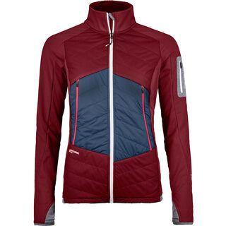 Ortovox Swisswool Hybrid Piz Roseg Jacket W, dark blood - Thermojacke