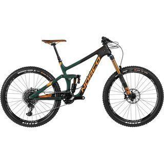Norco Range C 7.1 2017, green/black/orange - Mountainbike