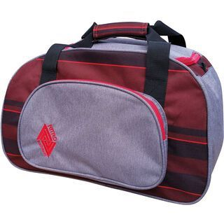 Nitro Duffle Bag XS, red stripes - Sporttasche