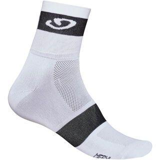 Giro Classic Racer Socks, white/black modern - Radsocken
