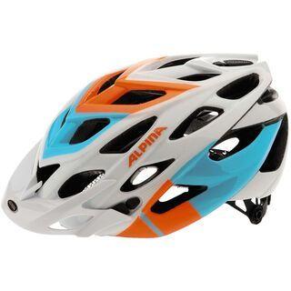 Alpina D-Alto, white orange blue - Fahrradhelm