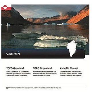 Garmin Topo Grönland (microSD/SD) - Karte