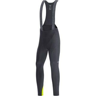 Gore Wear C3 Thermo Trägerhose+, black/neon yellow - Radhose