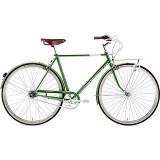 Creme Cycles Caferacer Man Doppio 2016, dark green - Cityrad