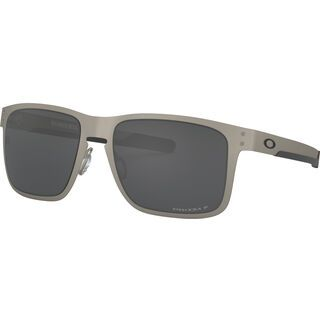 Oakley Holbrook Metal, satin chrome/Lens: prizm black polarized - Sonnenbrille
